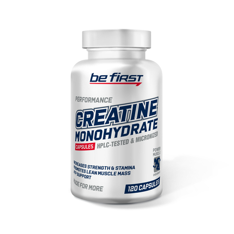 Creatine Monohydrate Capsules 120 капсул фото