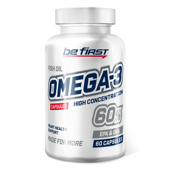 Omega-3 60% High Concentration (омега-3 60% ПНЖК) 60 капсул