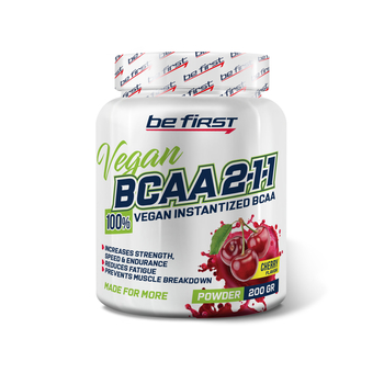 BCAA 2:1:1 Vegan powder 200 гр