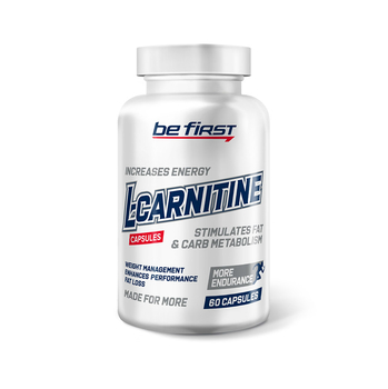 L-Carnitine Capsules (л-карнитин тартрат) 60 капсул