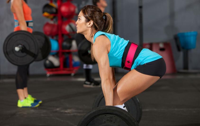 Тяжелоатлетический пояс женский от Be First
