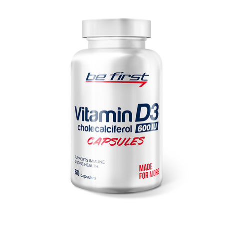 Vitamin D3 60 гелевых капсул  фото